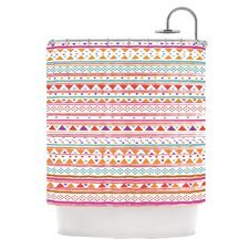 Native Bandana Polyester Shower Curtain