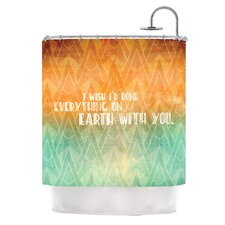 Deco II Polyester Shower Curtain