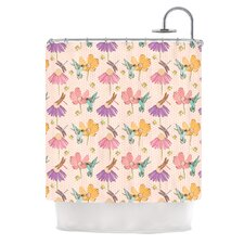 Magic Garden Polyester Shower Curtain