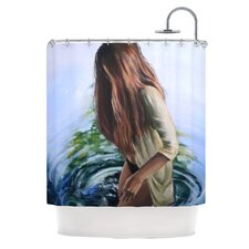 Knee Deep Polyester Shower Curtain