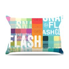 Flash Microfiber Fleece Pillow Case