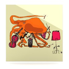 <strong>KESS InHouse</strong> Playful Octopus Floating Art Panel