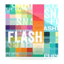 Flash by Original Graphic Art Plaque