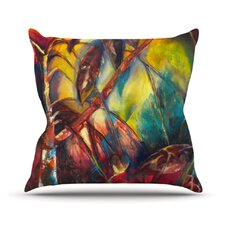 Growth by Kristin Humphrey Throw Pillow