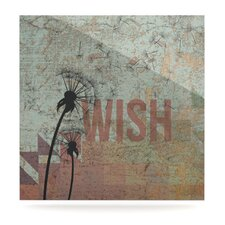 Wish by Original Graphic Art Plaque