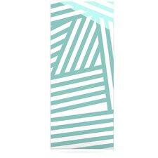 Stripes by Louise Machado Graphic Art Plaque