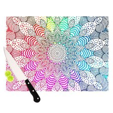 Rainbow Dots Cutting Board