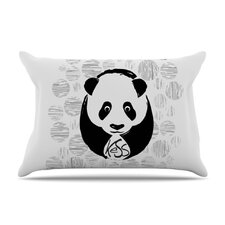 Panda Microfiber Fleece Pillow Case