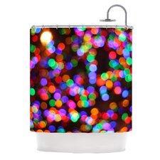 Lights II Polyester Shower Curtain