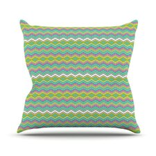 <strong>KESS InHouse</strong> Chevron Love Throw Pillow