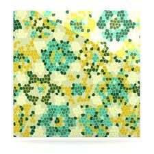 Flower Garden Mosaic Graphic Art Plaque