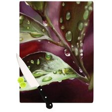 April Showers Cutting Board