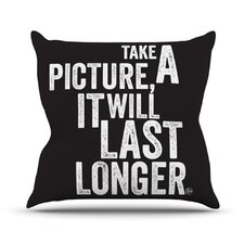 <strong>KESS InHouse</strong> Take a Picture Throw Pillow