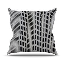 The Grid by Maynard Logan Throw Pillow