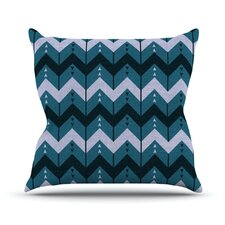 <strong>KESS InHouse</strong> Chevron Dance Throw Pillow