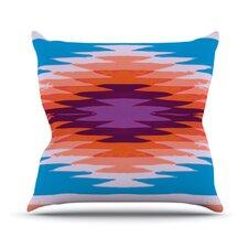 Surf Lovin Hawaii by Nika Martinez Throw Pillow