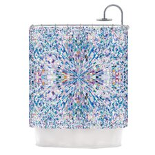 Looking Polyester Shower Curtain
