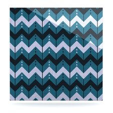 Chevron Dance Floating Art Panel