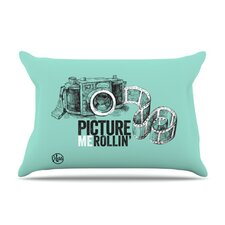 <strong>KESS InHouse</strong> Picture Me Rollin Fleece Pillow Case