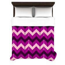 Chevron Dance Duvet Cover
