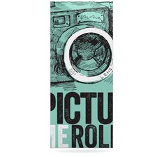 Picture Me Rollin by Original Graphic Art Plaque