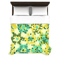 Flower Garden Mosaic Duvet Cover Collection