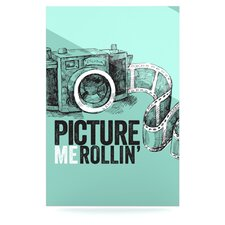 Picture Me Rollin Floating Art Panel