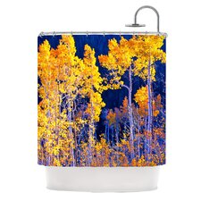 Trees Polyester Shower Curtain