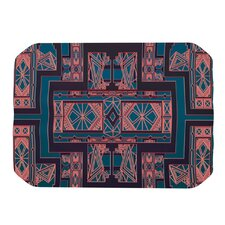 Golden Art Deco Placemat