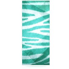 Zebra by Nick Atkinson Texture Graphic Art Plaque