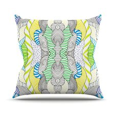 Wormland by Monika Strigel Throw Pillow