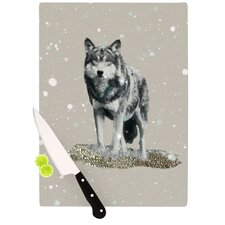 Wolf Cutting Board