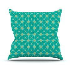 Hive Blooms by Nicole Ketchum Throw Pillow