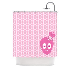 Skull Polyester Shower Curtain