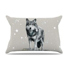 Wolf Fleece Pillow Case