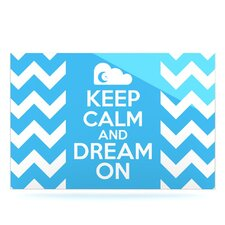 Keep Calm by Nick Atkinson Textual Art Plaque