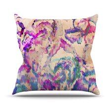 Weirdi Kat Throw Pillow