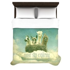 Never Stop Exploring Duvet Cover Collection