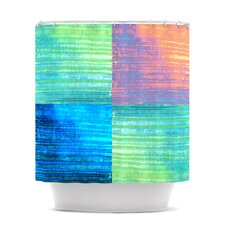Crayon Batik Polyester Shower Curtain