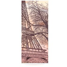 Eiffel Tower by Sam Posnick Graphic Art Plaque