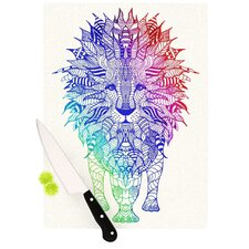 Rainbow Lion Cutting Board