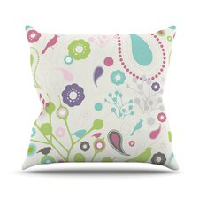 <strong>KESS InHouse</strong> Bird Song Throw Pillow