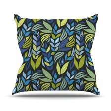 Underwater Bouquet Night Throw Pillow