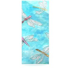 Dragonfly by Robin Dickinson Graphic Art Plaque