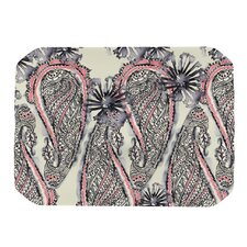 Inky Paisley Bloom Placemat
