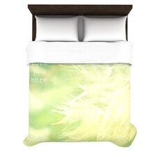 Love You More Duvet Cover Collection