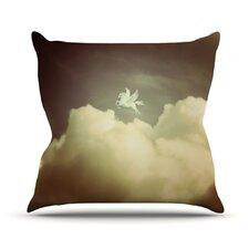 Pegasus by Richard Casillas Throw Pillow