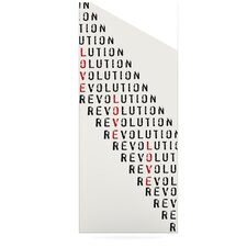 Revolution by Skye Zambrana Textual Art Plaque