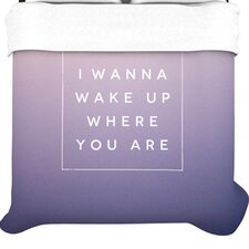 <strong>KESS InHouse</strong> Wake Up Duvet