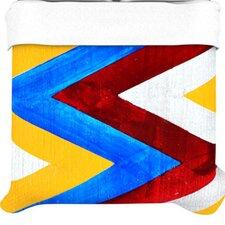 """""""Zig Zag"""" Woven Comforter Duvet Cover"""